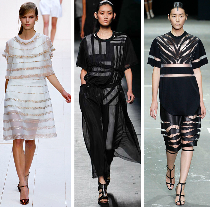 Chloe - Y3 - Alexander Wang - Spring 2013 - Stripes