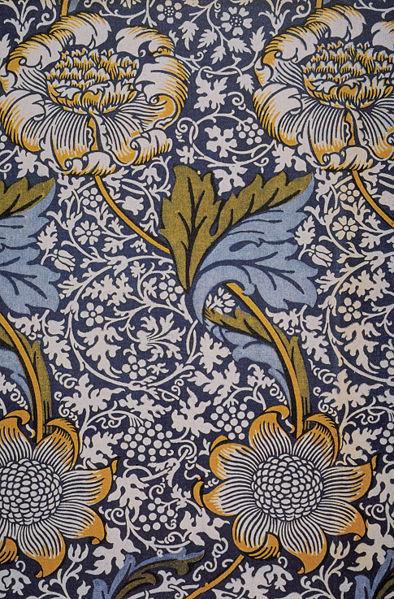 394px-Morris_Kennet_indigo_printed_textile_1883