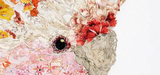 Louise Saxton - Major Tom - detail