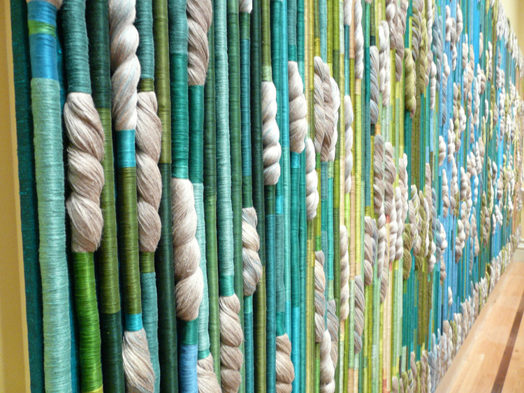 Sheila Hicks - The Silk Rainforest