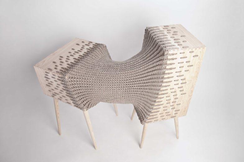 Le mobilier hybride de kata m nus collectif textile for Architecture hybride