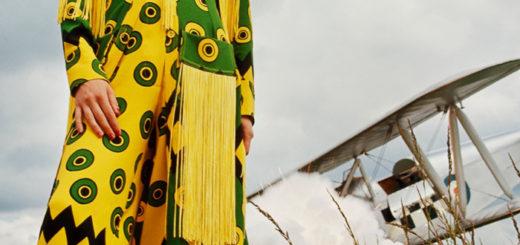 Celia Birtwell - Ossie Park Dress - 1969
