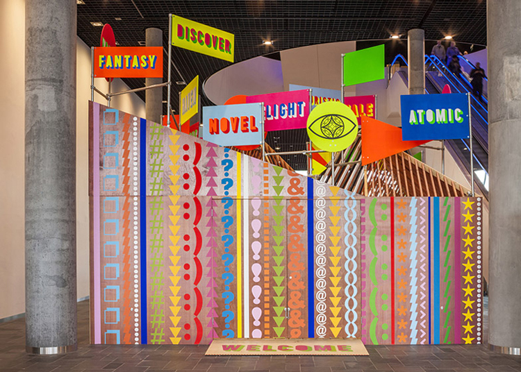 Morag Myerscough - Pavillon of Burmingham Library