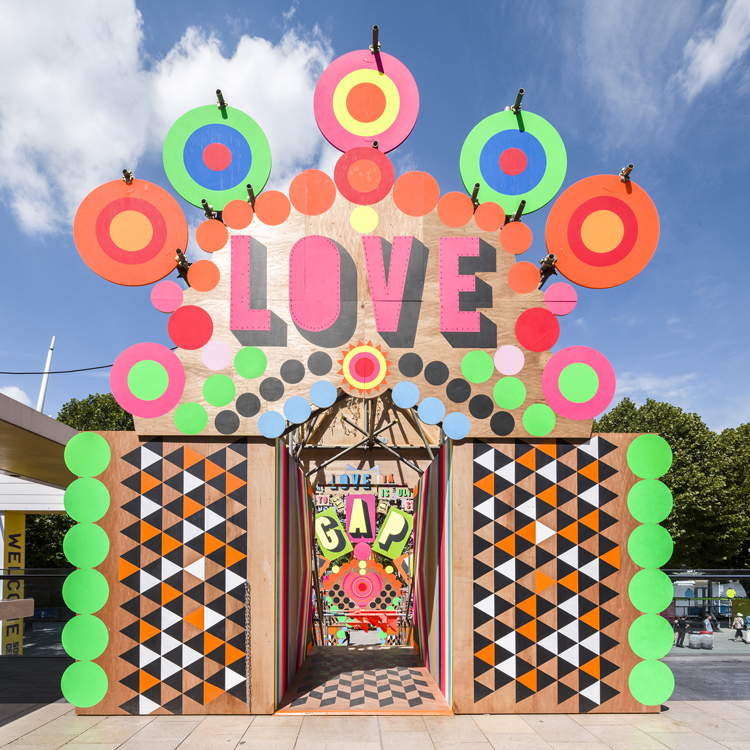 Morag Myerscough - Temple of Agape